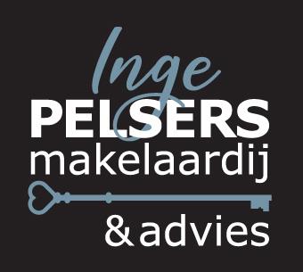 Inge Pelsers Makelaardij - logo zwart